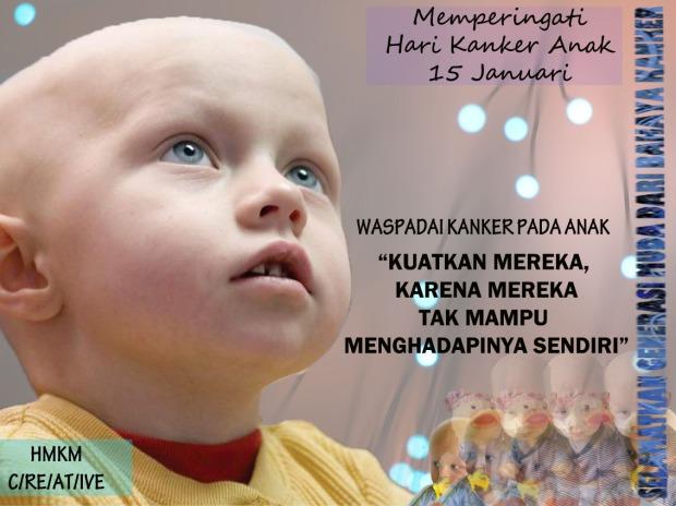 Memperingati Hari Kanker Anak